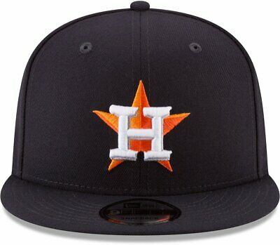 wholesale dealer 775aa 903f5 HOUSTON ASTROS New Era MLB 2018 Post Season Patch 9Fifty Snapback  Adjustable Hat