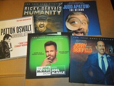 Comedians Dvd Lot Of 5 Fyc Award Consider Original Funny Stand Up Various Comedy