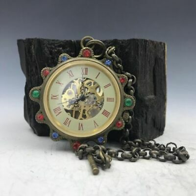 Collection Used china mechanical pocket watch  a718