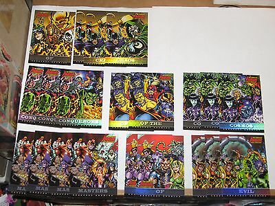 2006 Complete Avengers GREATEST ENEMIES CHASE INSERT 21 CARD LOT! GE9 VILLAINS