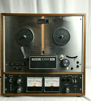 TEAC A-4010 SL Reel to Reel Tape Player / Recorder  !!!