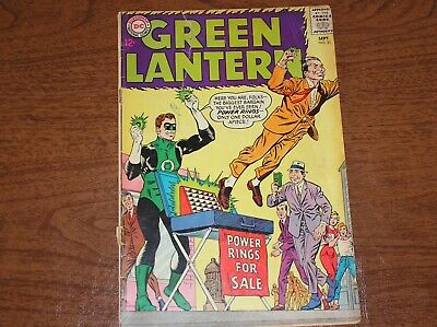 Green Lantern #31 1964 Power Rings For Sale 1.8 GD- Condition