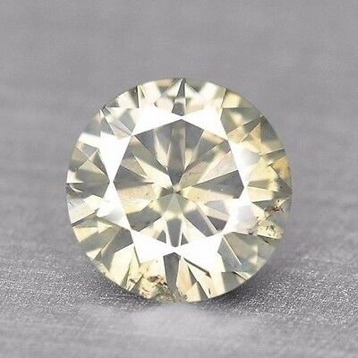 Good Sparkling Top Quality Yellowish White Natural Diamond Untreated