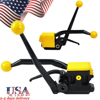"""US* A333 Manual Sealless Steel Strapping Tools for Strap Width 1/2""""-3/4"""" 13-19mm"""