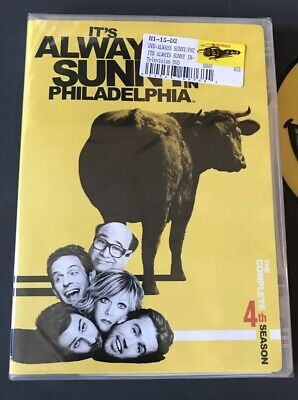 Its Always Sunny in Philadelphia Complete Season 4 3 Disc Set NEW & SEALED!