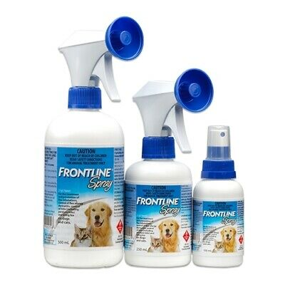 Frontline Spray for the Control of Fleas & Ticks on Cats & Dogs