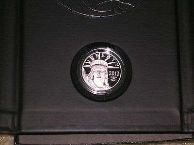 2012 W $100 1 Oz 9995 PLATINUM American EAGLE Proof Coin in Original Packaging