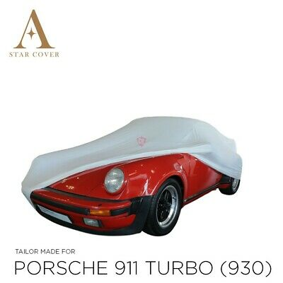 Porsche 911 930 Indoor Car Cover > Custom 911 Cover> Tailored Covers > White New