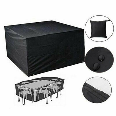 Waterproof Garden Patio Table Cover Outdoor Furniture Shelter Protection