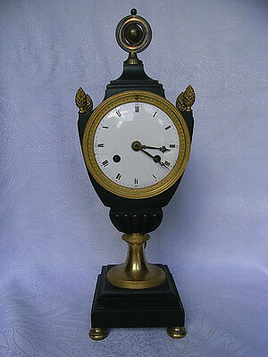 Empire Fireplace Clock - Pendule France Paris um 1810