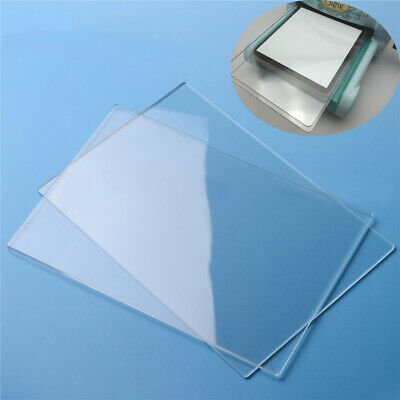 2Pcs Cutting Plate Dies Paper Embossing Acrylic Pads Mats for BIG SHOT Machine