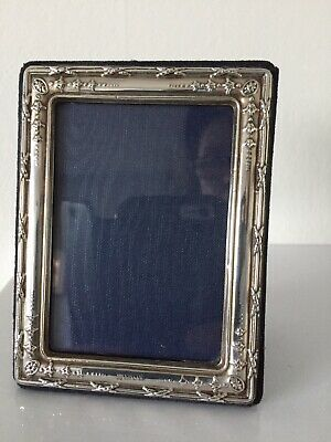 Sterling Silver Picture Frame Hallmarked