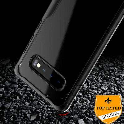 Mosafe® Samsung Galaxy S10 S10+ Plus Shockproof Bumper Transparent Case Cover