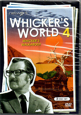 NEW & SEALED Whicker's World - Vol.4 Whicker's Walkabout (DVD, 2017, 2-Disc Set)