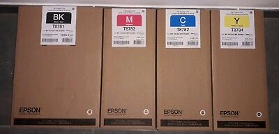 Epson    T 8781./T8782/T8783/T8784 CARTOUCHES D ENCRE .BLACK/CYAN/MAGENTA/YELLOW