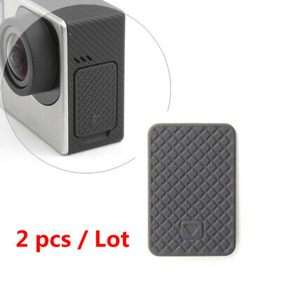 2pcs ABS Side Door USB Micro HDMI Port Protective Cover For GoPro HERO 4/3+/3