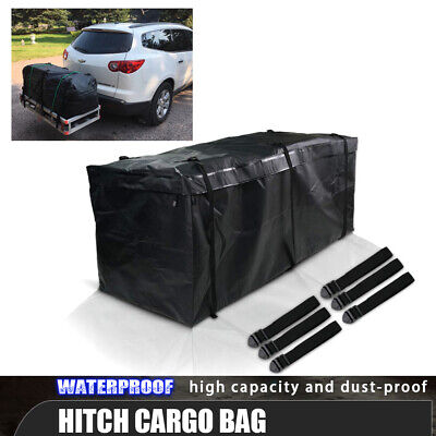 Large Waterproof Hitch Cargo Carrier Tray Luggage Storage Bag For Cherokee Honda
