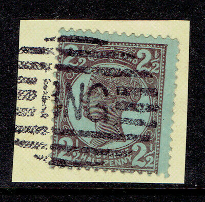 2 1/2d Queensland.Used In New Guinea