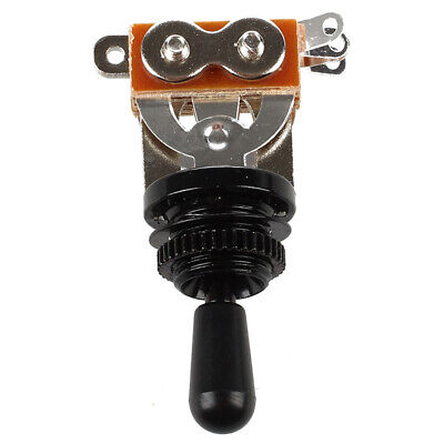 Black Tip 3 Way Toggle Switch Pickup Selector for Electric Guitar A9W4