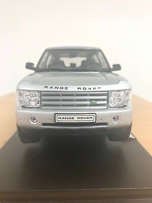 Welly 2003 Land Rover - Range Rover 1:18 - Silver
