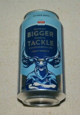 Old Buck Advice Limited Blues Edition Tooheys New Beer Can  Nsw State Of Origin