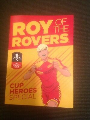 GIANT KILLERS 2019 FA Cup Heroes Roy Of The Rovers LIMITED EDITION