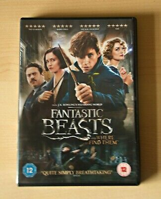 Fantastic Beasts and Where to Find Them DVD Region 2 like new