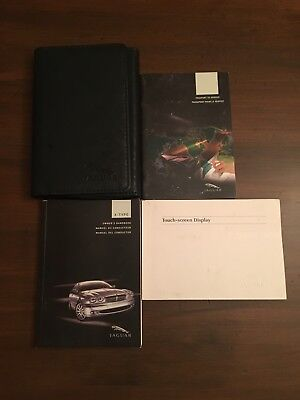 2005 jaguar s type owners manual