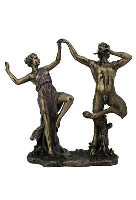 Satyrs Dancing With A Nymph - Myth & Legend Sculpture