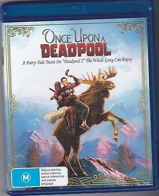 Once Upon a Deadpool (Deadpool 2 re-cut) Blu Ray