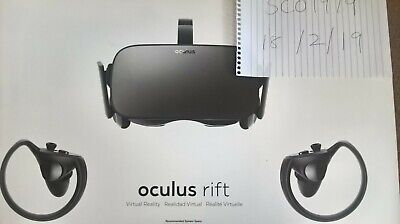 Oculus Rift and Touch Bundle Virtual Reality Headset