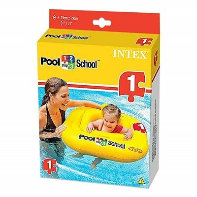 Baby pool schoolseat/float stage 1 used only once!