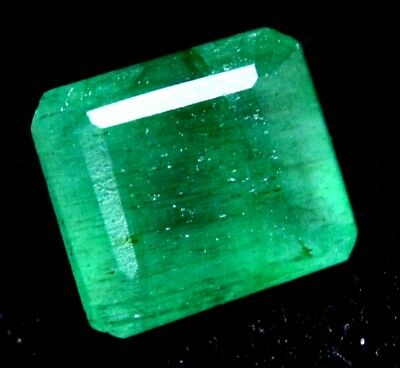 4.40  Ct Certified Natural Colombian Excellence Green Emerald Gemstone