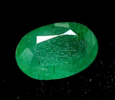 4.75 Ct Certified Natural Colombian Excellence Green Emerald Gemstone