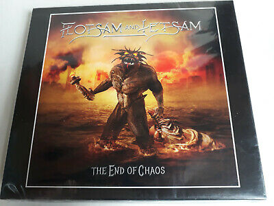 The End Of Chaos by Flotsam and Jetsam (Cd, Slipcase, Brazil, 2019) New