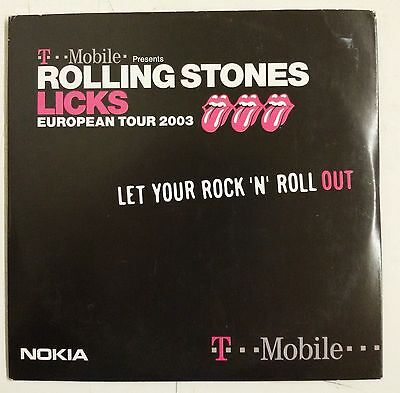 The Rolling Stones Let Your Rock 'N' Roll Out Cd-sgl promozionale
