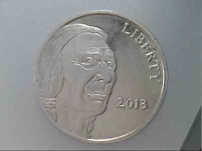 2013 Liberty Indian / Buffalo 1 Troy oz Silver Round