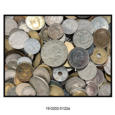 Lot of 200 Plus Foreign Coins