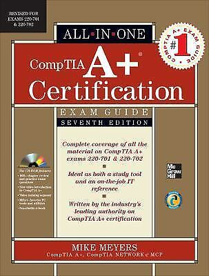 All-In-One: CompTia A+ Certification by Michael Meyers (2010, CD-ROM /...