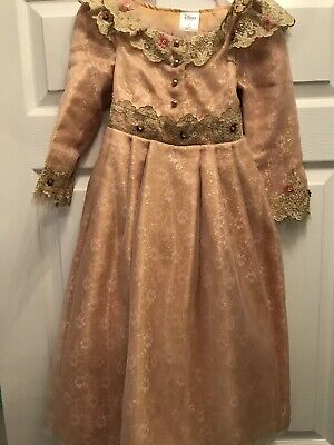 Disney Store Maleficent Sleeping Beauty Deluxe Dress Girls Costume Aurora 4 Nwt
