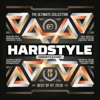Hardstyle Ultimate Collection-Best Of 2018  3 Cd New