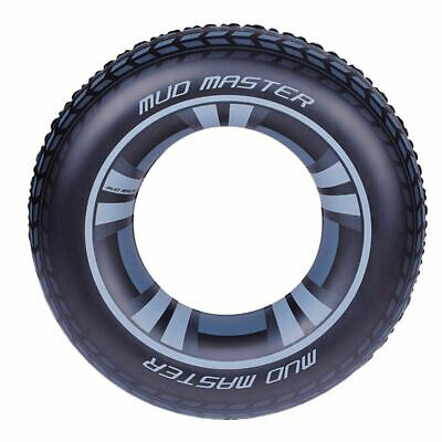 Large Inflatable Tyre Rubber Ring Tube Beach Swimming Pool Sea Swim