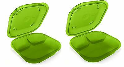 Preserve 2 Go BPA-Free, Reusable Take Out Box/Food Storage Containers (Set of 2)