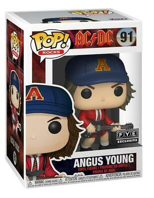 AC/DC - Angus Young Red Jacket FYE Exclusive FUNKO Pop! #91 US SELLER! FREE SHIP