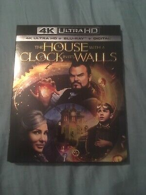the house with a clock in its walls Ultra 4K Blu-ray Jack Black Eli Roth