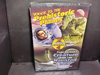 Voyage To The Prehistoric Planet / Creature From The Haunted Sea DVD NEW B304