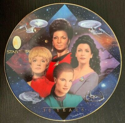 Star Trek 30 Years Women Of Star Trek Plate