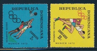 Dominican Rep  - Munich Olympic Games MNH Set (1972)