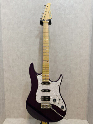 Deceiver AS-101R Mod E.Guitar Free Shipping Used Dinky Type 2009-2010 Purple