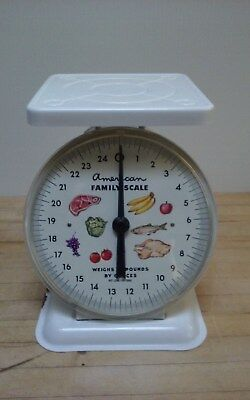 Vintage Kitchen Scale With Brass Face 79 99 Picclick
